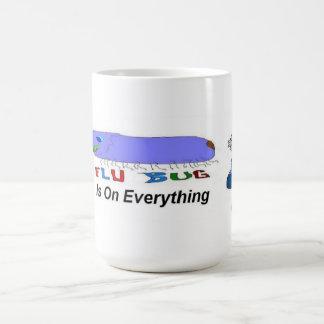 Flu Bug On Everything Coffee Mugs