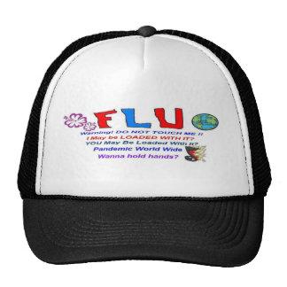 Flu Bug Trucker Hats