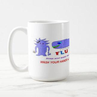 Flu Bug vs Mama Coffee Mug
