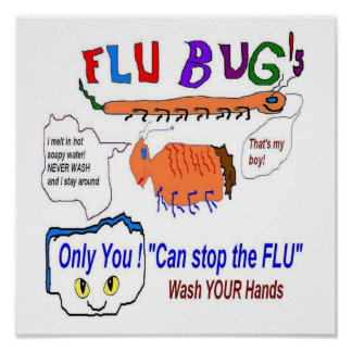 Flu Bugs and You Poster