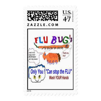 Flu Bugs Postage