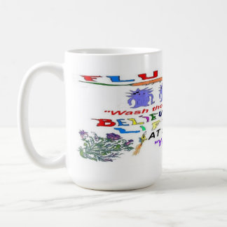 Flu Epidemic 2013 Classic White Coffee Mug