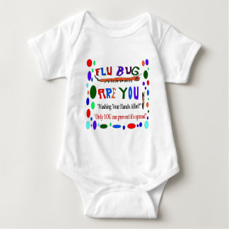 Flu Epidemic Baby Bodysuit