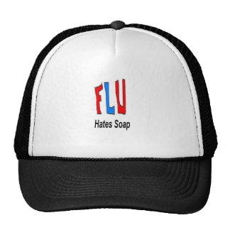 Flu Hates Soap Trucker Hats