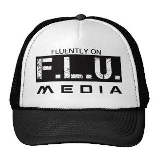 FLU MEDIA TUCKER TRUCKER HAT
