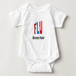 Flu Monster Hater Baby Bodysuit