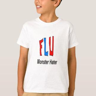 Flu Monster Hater T-Shirt