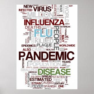 Flu Pandemic Poster