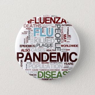 Flu Pinback Button