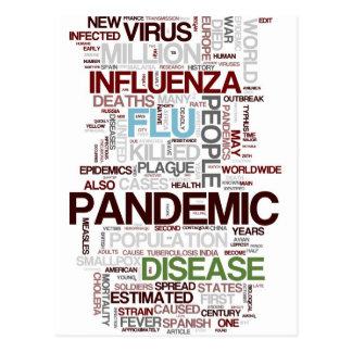 Flu Postcard