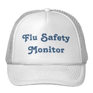 Flu Safety Monitor Trucker Hat