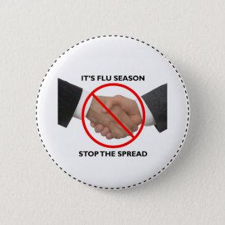 Flu Season Button