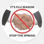 Flu Season Sticker