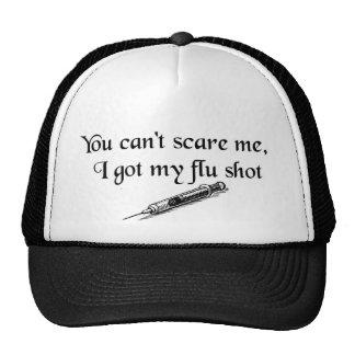 Flu shot trucker hat