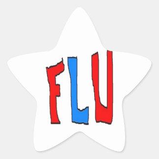 Flu Star Sticker