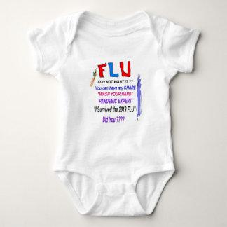 FLU Survivor T Shirts