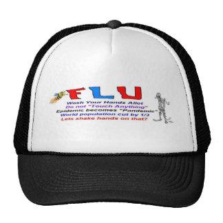 Flu Truckers Hat