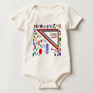Flu Use Soap Baby Bodysuit