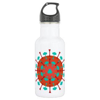 Flu Virus Water Bottle