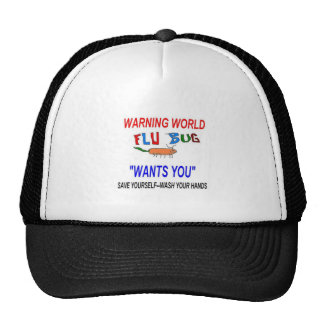 Flu Warning 2013 Mesh Hat