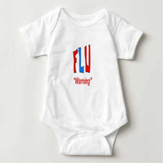 Flu Warning Baby Bodysuit