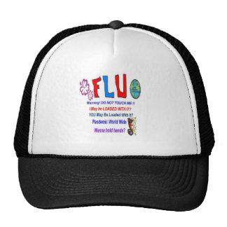 FLU Warning Trucker Hat