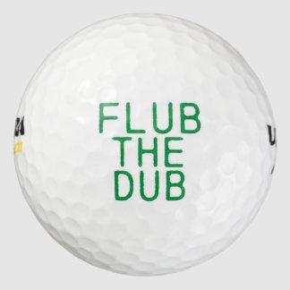 Flub la copia pack de pelotas de golf