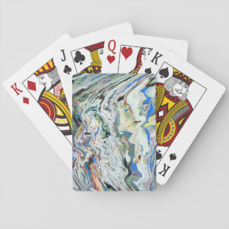 Fluctuating Geology by Christina Stavers Playing Cards