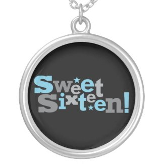 Fluctuating Type Sweet 16 Necklace necklace