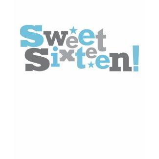 Fluctuating Type Sweet 16 Shirt shirt