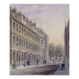 Fludyer Street looking towards Parliament Poster