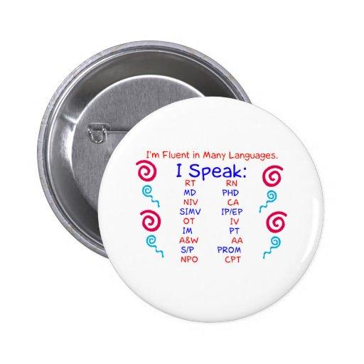 Fluent in Abbreviations Button