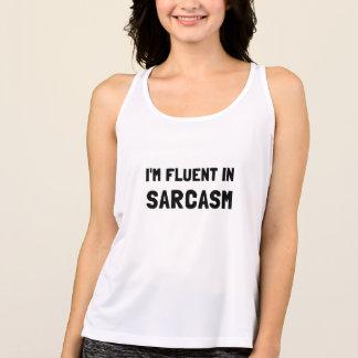 Fluent In Sarcasm Tank Top
