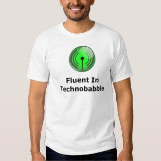 Fluent In Technobabble Tee Shirt