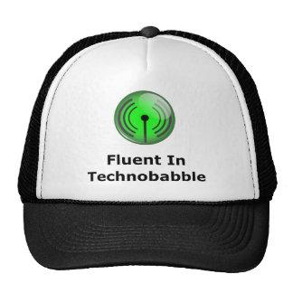 Fluent In Technobabble Trucker Hat