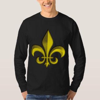 Fluer De Art Bevel Gold Fresco T Shirt
