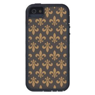Fluer Des Lis Chocolat Chaud Case For iPhone SE/5/5s