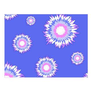 Fluff Flowers 2 Postcard