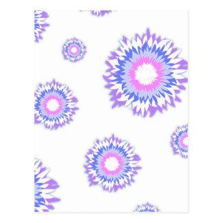 Fluff Flowers Postcard
