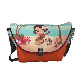 Fluff Hula Lulu Messenger Bag