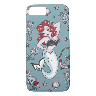 Fluff Molly Mermaid iPhone 7 case