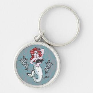 Fluff Molly Mermaid Keychain