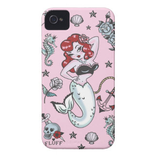 Fluff Molly Mermaid Pink Iphone 4/4S Case