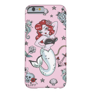 Fluff Molly Mermaid Pink iPhone 6 case