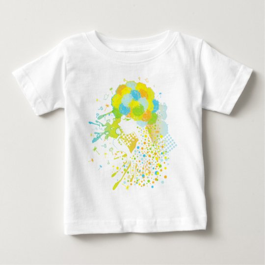 Fluff_of_a_Dandelion Baby T-Shirt