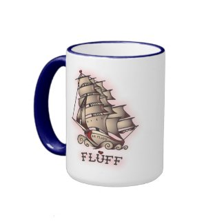Fluff Suzy Sailor Pinup Mug