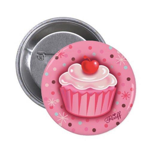 FluffCakes Button Pink
