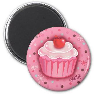 FluffCakes Magnet Pink