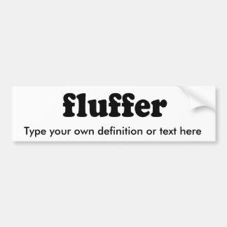 FLUFFER BUMPER STICKER