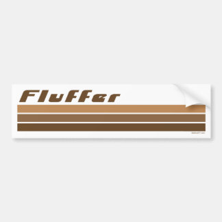 Fluffer Bumper Stickers